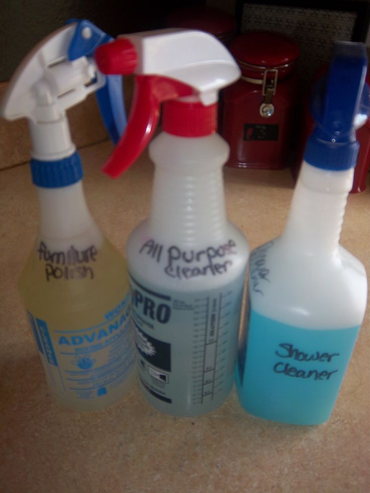 DIY household cleaners