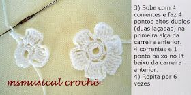 ROSINHAS DE CROCHE