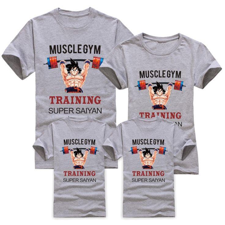 Goku Dragon Ball Z Family Matching T-Shirts (Price is per Each) //Price: $17.99 & FREE Shipping //