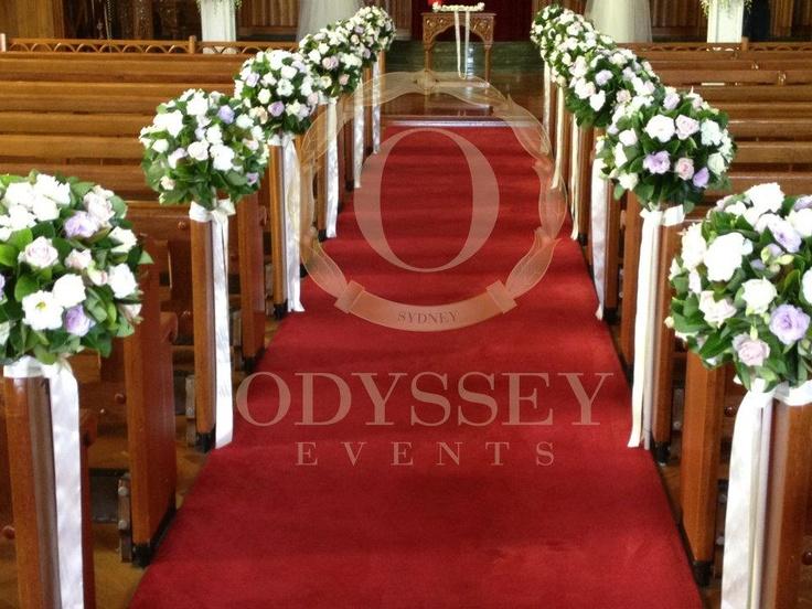 """Unique Church Wedding Decoration Ideas: 274 Best Images About WEDDING """"PEW"""" DECOR On Pinterest"""