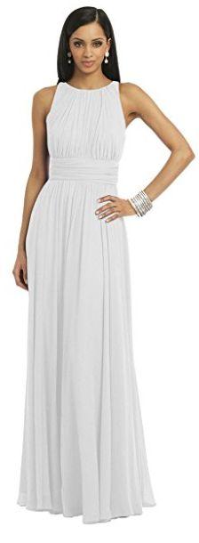 Vestido enterizo elegante blanco