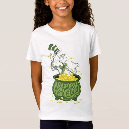 Dr. Seuss | Cat in the Hat - Happy St. Cat's! T-Shirt - tap, personalize, buy right now!