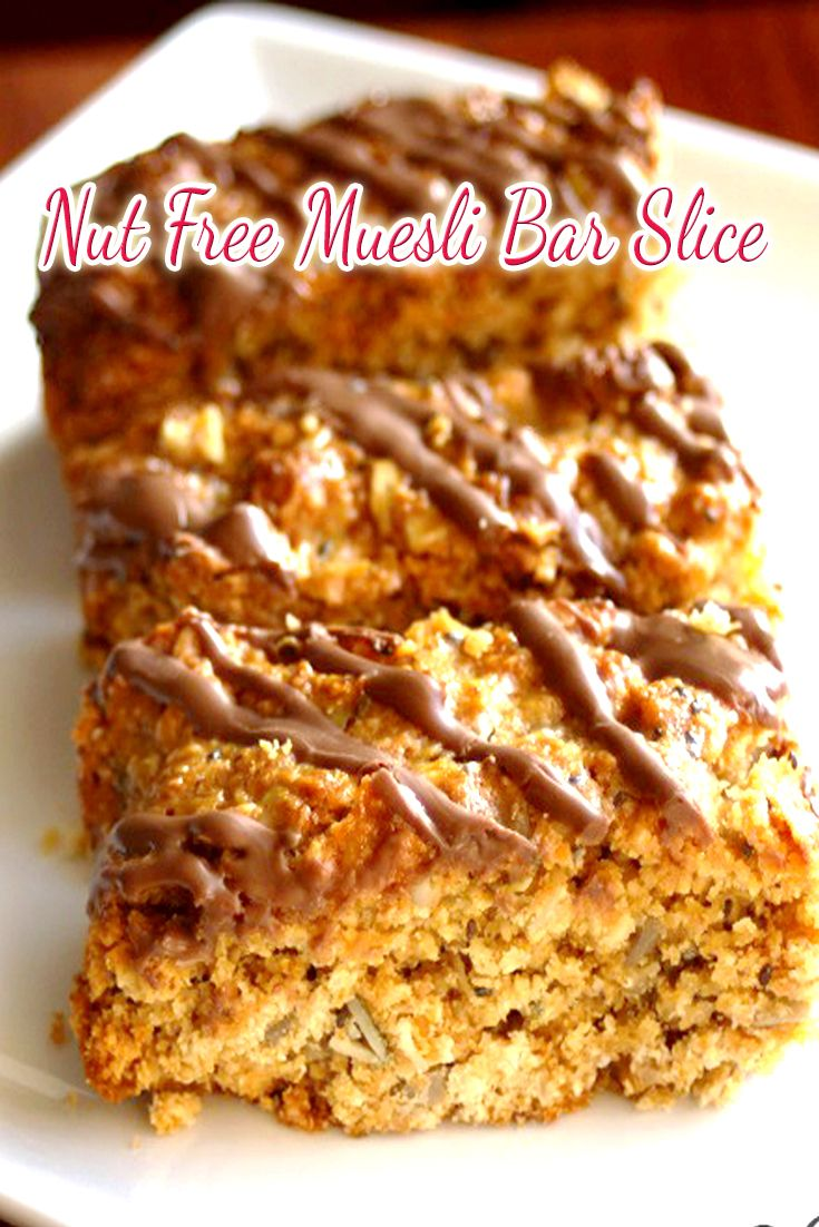 Tracey's husband had requested a muesli bar to take to work, so instead of buying some that are full of additives and preservatives, she made her own.