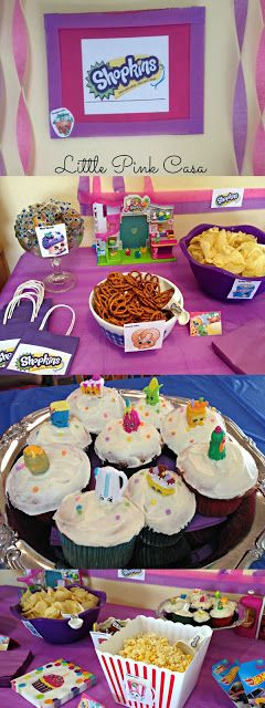 Amazing Shopkins Party on a Budget tips and ideas plus 3 How To videos and party…