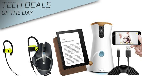 Tech Deals: $60 Off Powerbeats3, $50 Off Kindle Oasis, $40 Gaming Mouse, 10ft Lightning Cable, More  #$40GamingMouse #$50OffKindleOasis #10ftLightningCable #More #TechDeals:$60OffPowerbeats3 #news