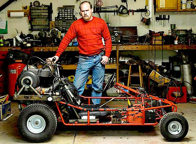 Top 10 Coolest Backyard Inventions Of 2008 Diy Rally