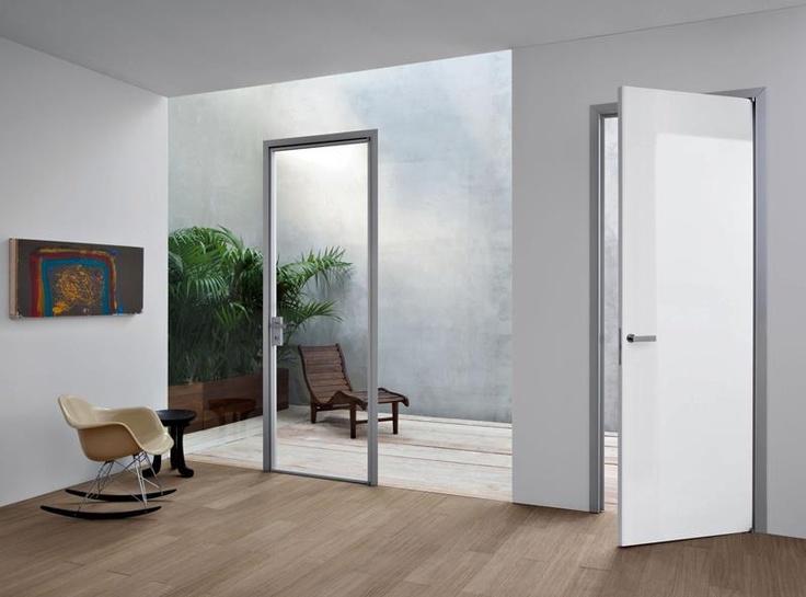 BLUES - laqué blanc brillant  #porte  #door