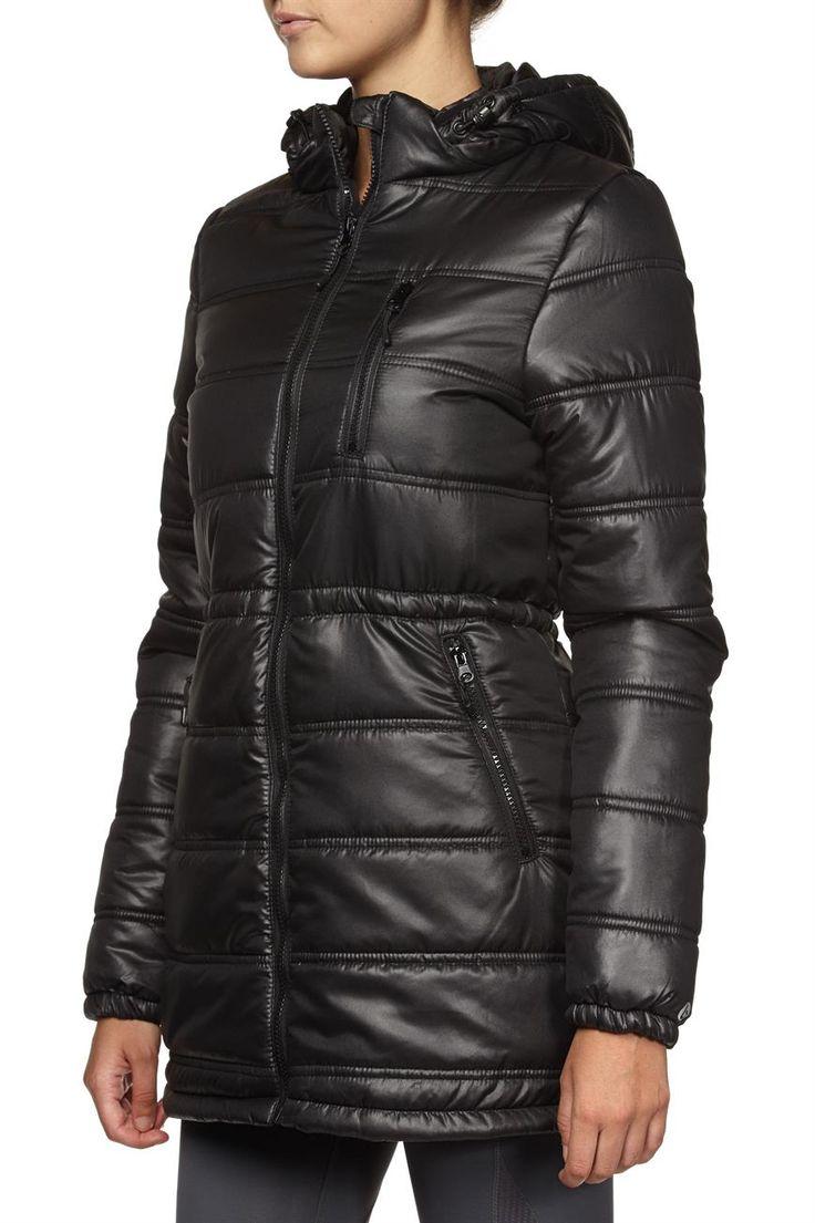 Health Goth // Cotton On / Trek Puffer Jacket, Black
