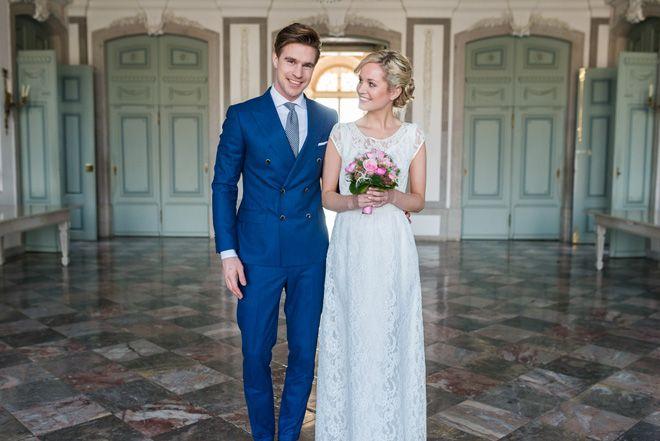 Hochzeit auf Schloss Benrath Düsseldorf - Styled Shoot   Hochzeitsblog