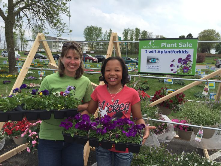 Help Big Brothers Big Sisters 25th Annual Plant Sale raise money for their youth mentoring program by buying plants at the Northwest Bank & Trust Tower in Davenport (next to NorthPark Mall) May 2-10th. For details: http://www.bbbsmv.org/…/c.b…/b.6693821/k.23F3/Plant_Sale.htm  Plus, take a photo in front of the I will #plantforkids plant sale sign and post it on facebook with the hashtag #plantforkids and ESA will donate $1 for every person who does, up to $500. Happy planting!