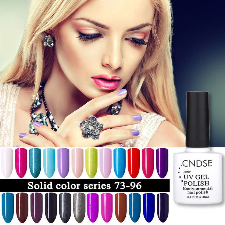 Nail Gel 2  CNDSE 10ML/Bottle 96 Colors Soak-off UV Led Gel Polish Nail Art Manicure Nail UV Colorful Gel Lacquer Nail Polish * AliExpress Affiliate's Pin. Find out more by clicking the image