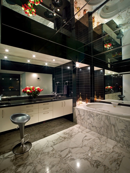 modern retro bathroom by pepe calderin