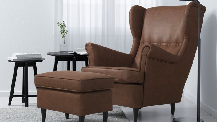 Strandmon Wing Chair | These furniture items might look more upmarket, but they happily come at IKEA prices