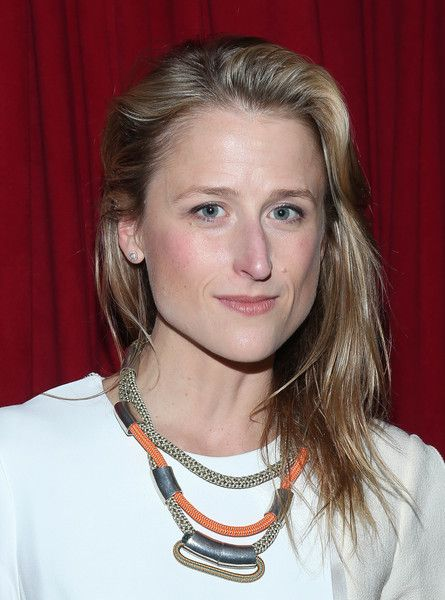 """Mamie Gummer attends """"Ugly Lies The Bone"""" Opening Night cast party at HB Burger on October 13, 2015 in New York City."""