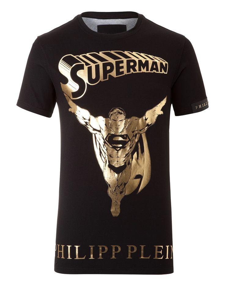 "PHILIPP PLEIN T-SHIRT ""GOLDEN HERO"". #philippplein #cloth #"