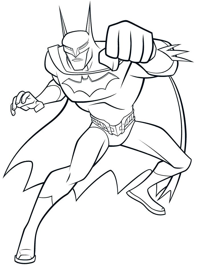 Blow Batman Coloring Pages   Batman Cartoon Coloring Pages