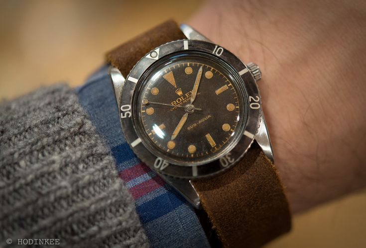 On The Block: A First Series Rolex Submariner, But With A Different Name On The Dial