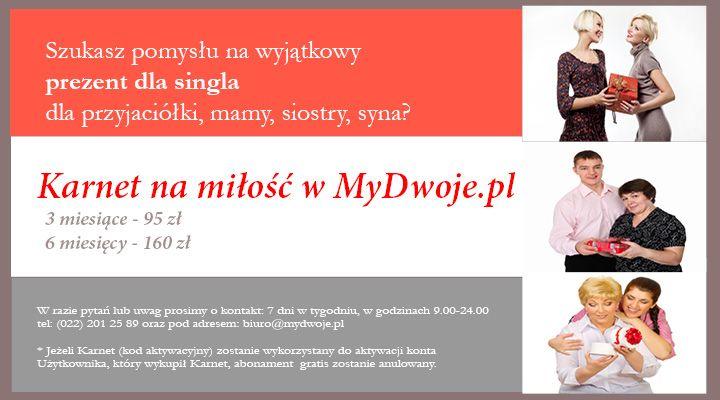 #prezent, #pomysł, #singiel, #przyjaciel, #karnet, #miłość, #promocja, #mydwoje  https://www.mydwoje.pl/prezent-dla-singla