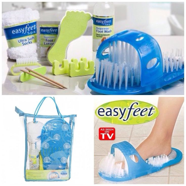 Easy Feet Spa, Peppermint Foot Wash, Lotion, Socks, Pedicure Kit NEW As Seen TV  Price:US $19.99 Buy It Now  #EasyfeetSpa