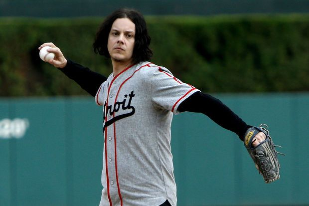 Video: Detroit-born rock star Jack White throws out first pitch before Tuesday's Detroit Tigers game | MLive.com