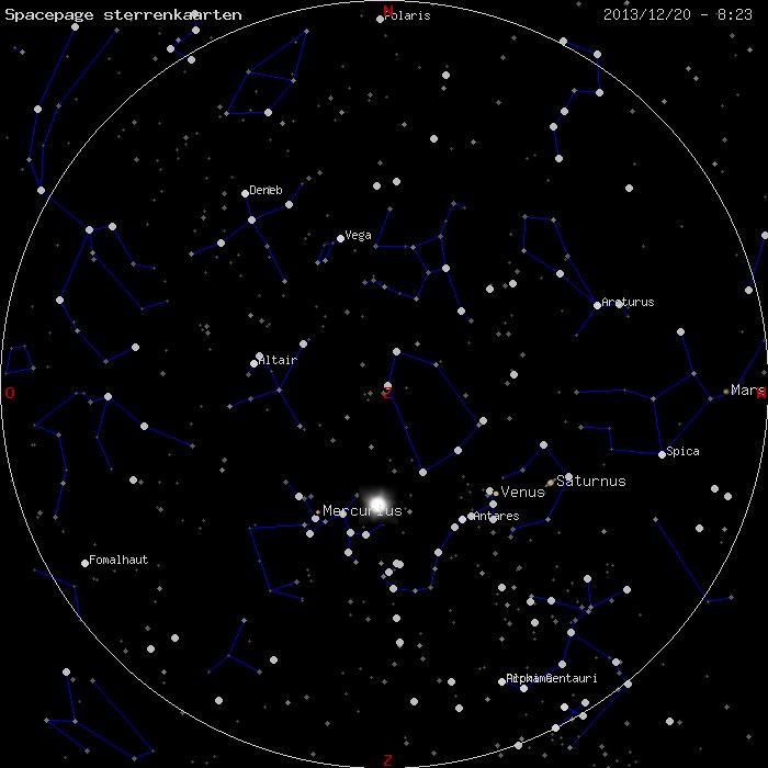 Dynamische sterrenkaart | Tools voor het waarnemen