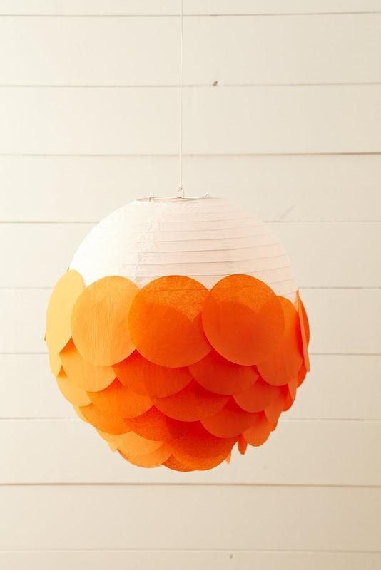 Papierové lampióny - The Remeslá oddelenia