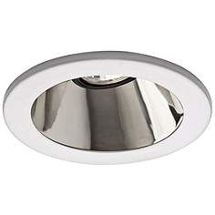 "Lytecaster 3 3/4"" Chrome Recessed Downlight Cone Trim"