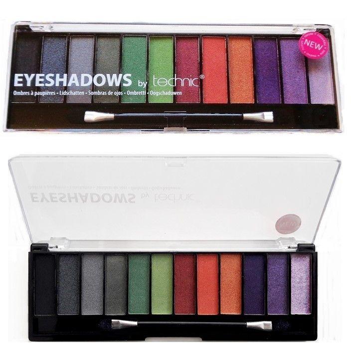 Δημιουργήστε διαφορετικά look στο μακιγιάζ σας με την Technic 12 pc Black Magic Eyeshadow Palette! Περιέχει 12 σκιές ματιών σε smokey και φωτεινές αποχρώσεις, με ματ και shimmering τελείωμα. Η κασετίνα διαθέτει επίσης πινέλο εφαρμογής διπλής όψης.Όλα τα προϊόντα της Technic είναι Against Ani