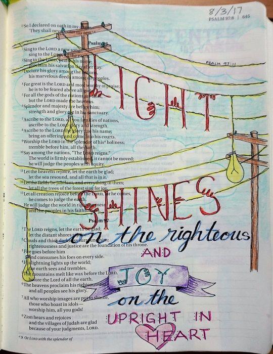 Psalm 97:11