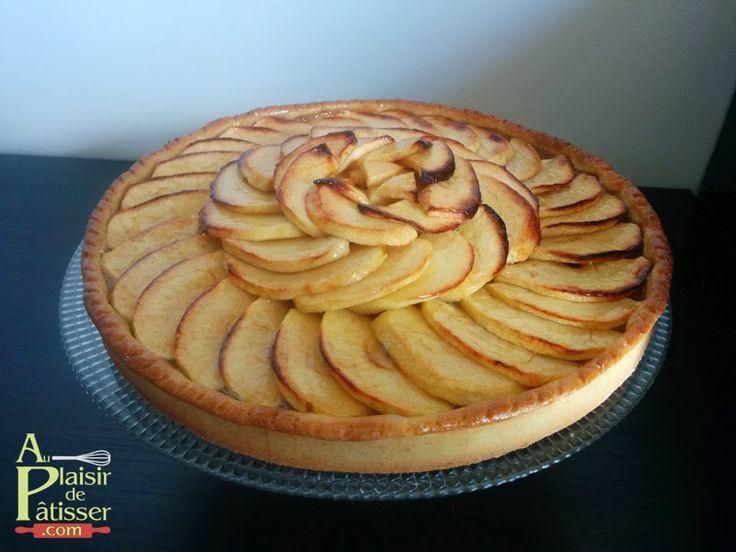 Au Plaisir de Pâtisser: Tarte aux pommes type CAP Patissier