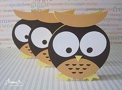 Owl Mini Card: Owl Minis, Minis Cards, Scrapbook, Plays Cards