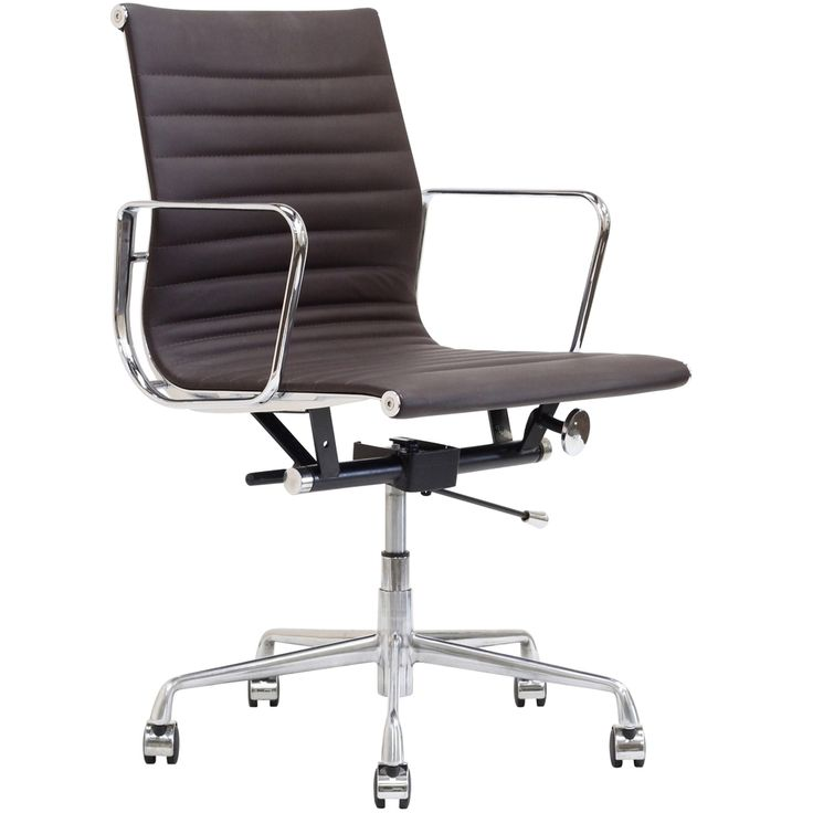 lexmod ribbed mid office. lexmod ribbed mid back office chair terra cotta genuine leather lexmod i