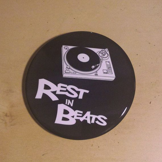 Rest In Beats  Nujabes Inspired Button by SaavyInc on Etsy