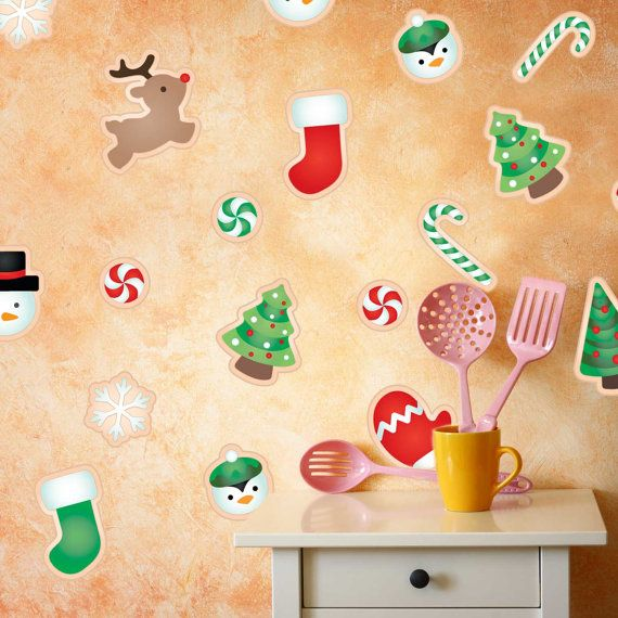 32 best Christmas Wall Decals // Decor Ideas images on Pinterest ...