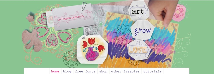 http://artgrowlove.com/design-decisions-which-would-you-choose/ Green Long background