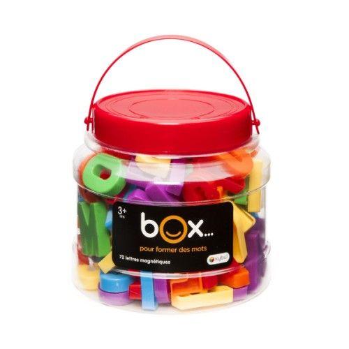 Box 72 Lettres magnétiques Oxybul pour enfant de 3 ans à 8 ans - Oxybul éveil et jeux