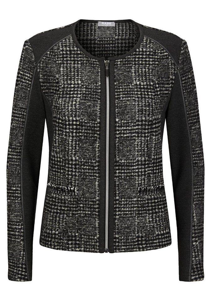 Rabe Jacke mit aufregender Oberflächenstruktur   Fashion
