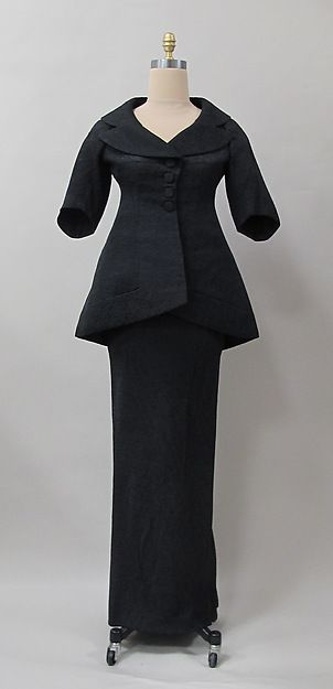 Charles James | Evening suit | American | 1956
