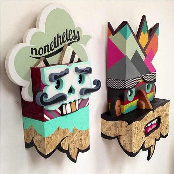 New 3D work by Alex Yanes for his show at Thinkspace's gallery in LA.