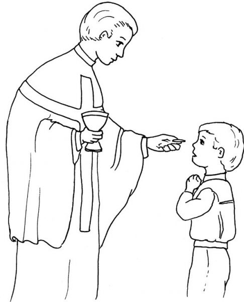 The Best  first holy communion coloring pages - http://coloring.alifiah.biz/the-best-first-holy-communion-coloring-pages/