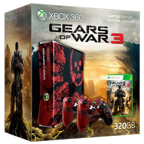 Review Cheap Xbox 360 Gears of War 3 Limited Edition Console Bundle