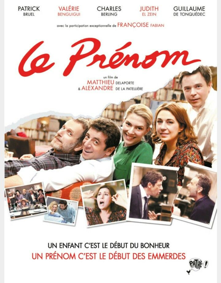 """""""What's in a Name?"""" is a French-Belgian comedy film, written and directed by Alexandre de La Patellière and Matthieu Delaporte and released in 2012."""