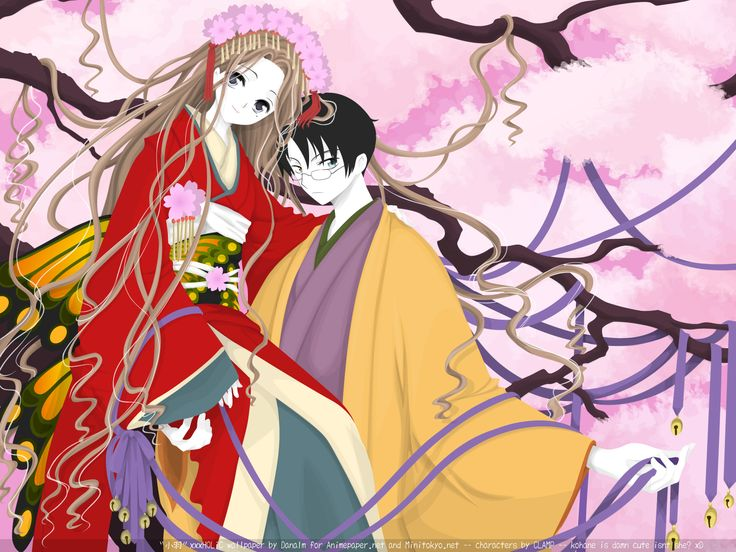 xxxHolic Characters  :  Kimihiro Watanuki (pictured to the right) & Kohane Tsuyuri  .   Title  :  Little Flower  .   Dimensions  :  1600 x 1200px
