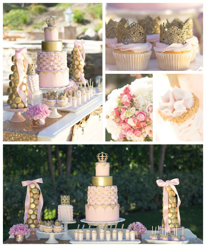 Vintage Glam Princess Birthday Party via Kara's Party Ideas | KarasPartyIdeas.com (5)