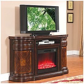 60in Cherry Media Electric Fireplace