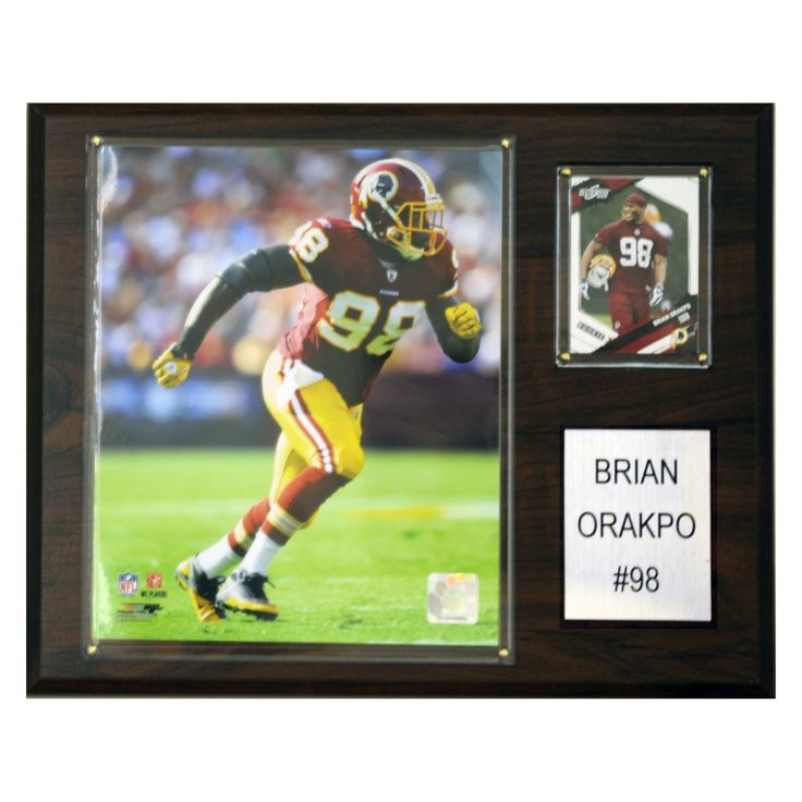 NFL 12 x 15 in. Brian Orakpo Washington Redskins Player Plaque - 1215ORAPKO