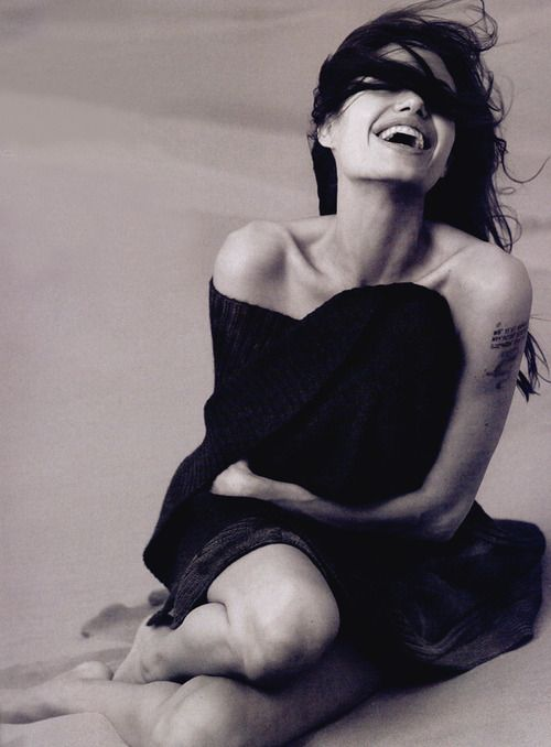 Angelina Jolie. Photography by Annie Leibovitz. I would brunch with both of these interesting women