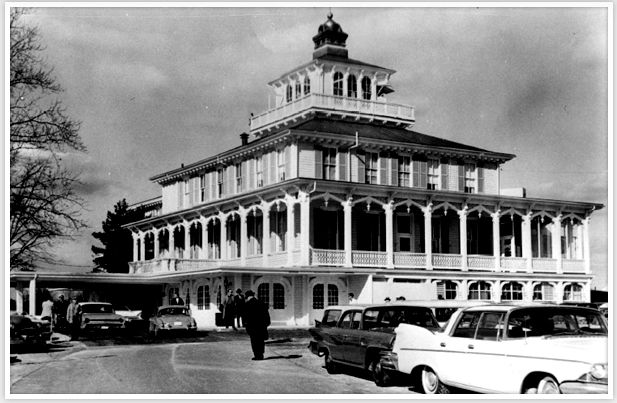 The History Of Pimlico Race Course, home of the Preakness Stakes and second oldest racetrack in the nation behind Saratoga, opened its doors on October 25, 1870. Pictured is the Pimlico Members Club in 1959.