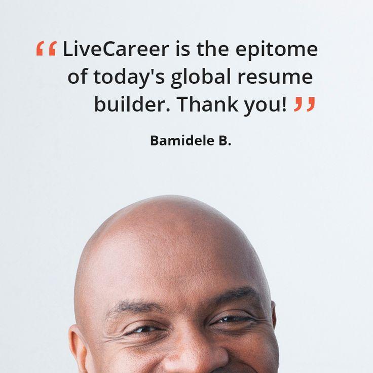 182 best LiveCareer Reviews images on Pinterest Resume builder - resume builder reviews