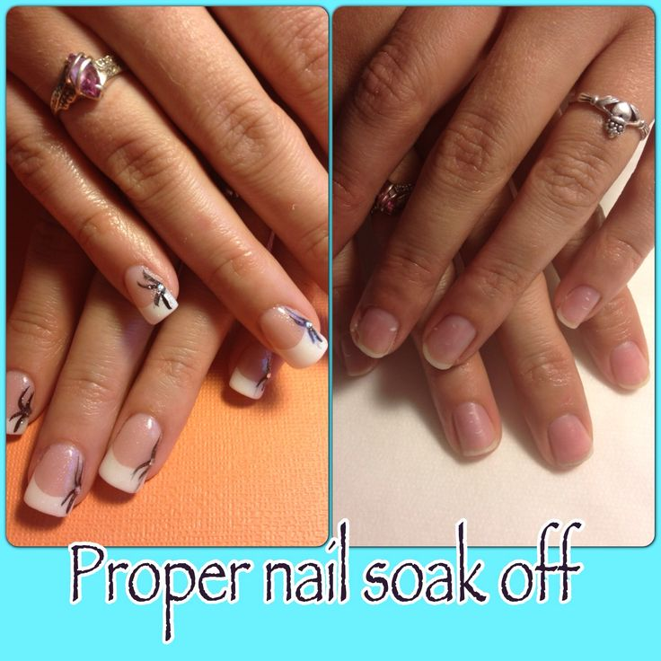 Pin by NDED.com on soak off acrylic nails tutorial & video gallery ...